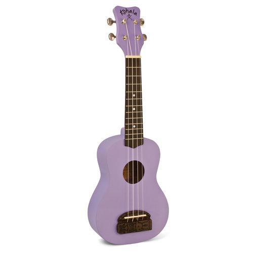 Kohala Kohala Soprano Tiki Series Soprano Ukulele in Purple