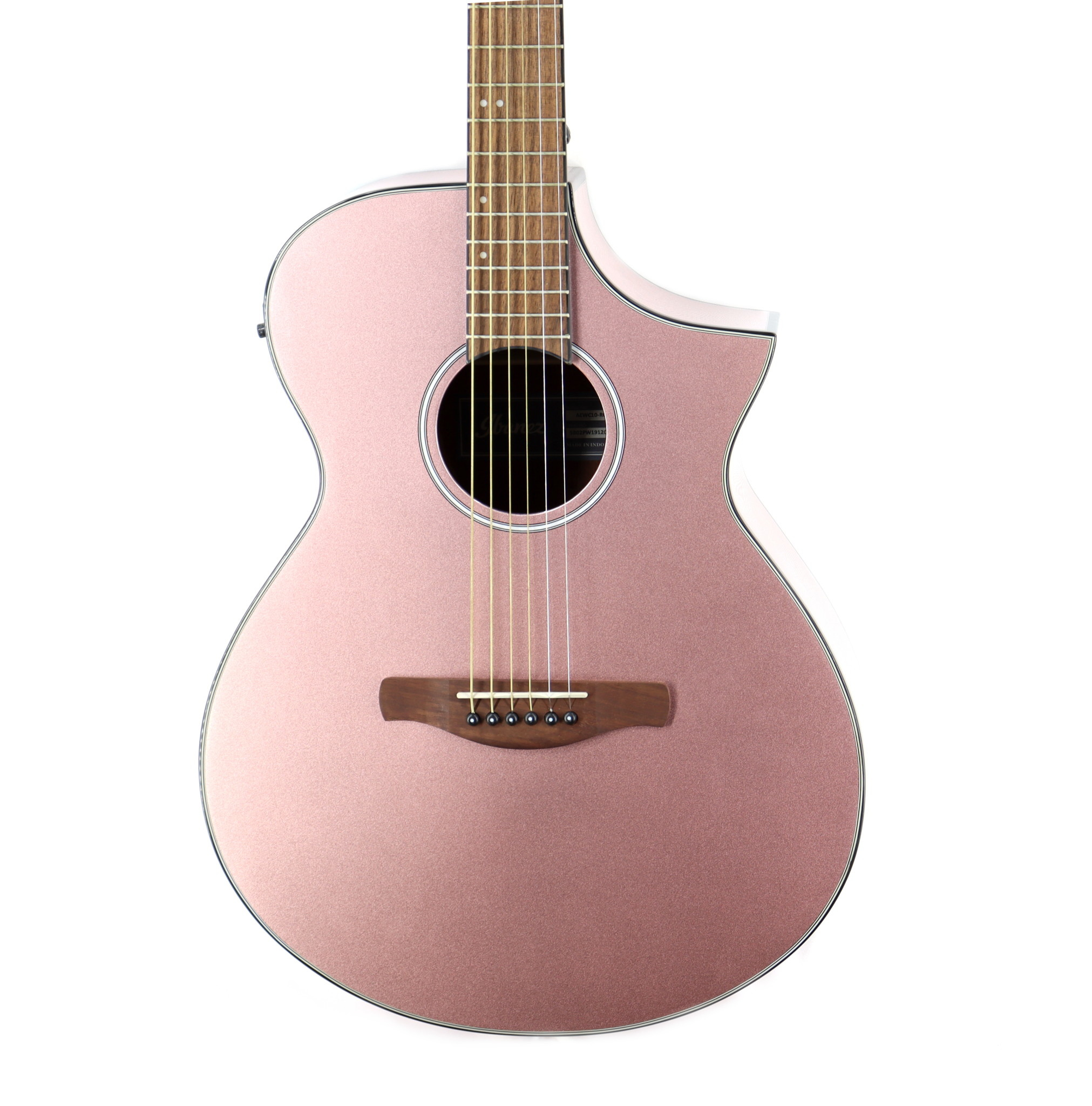 Ibanez Ibanez AEWC10RGM  Acoustic Guitar in Rose Gold High Gloss