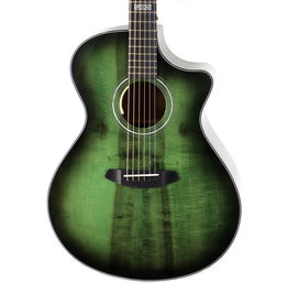 Breedlove Breedlove Oregon Concerto Emerald CE Myrtlewood-Myrtlewood LTD with Hard Case