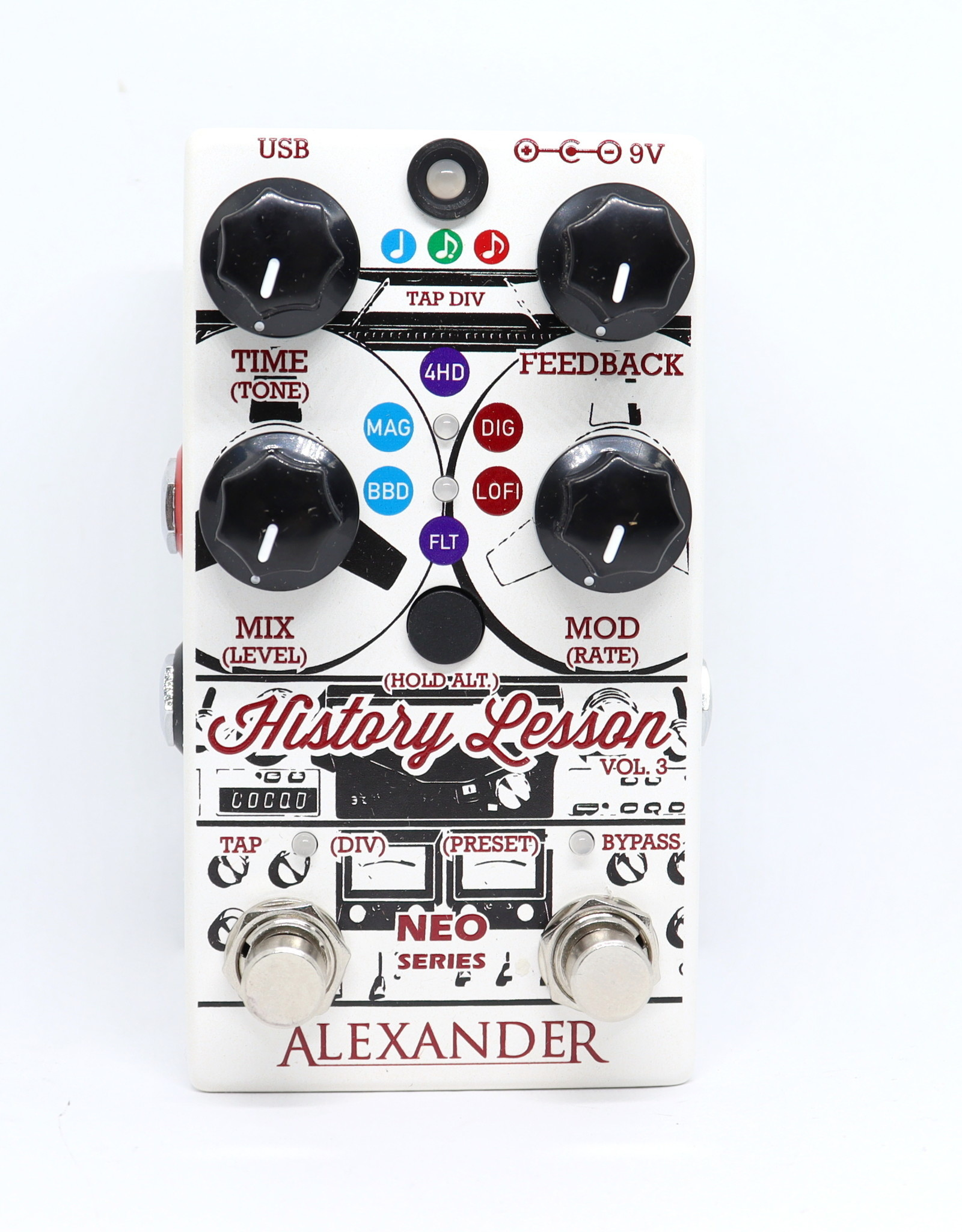 Alexander Alexander NEO Series History Lesson V3 Delay