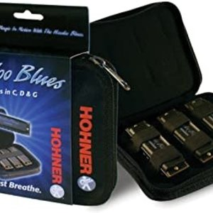Hohner Hoodoo Blues Harmonica 3pk - Keys of G, C and D