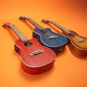 Ortega Ortega Earth Series Acoustic/Electric Concert Ukulele