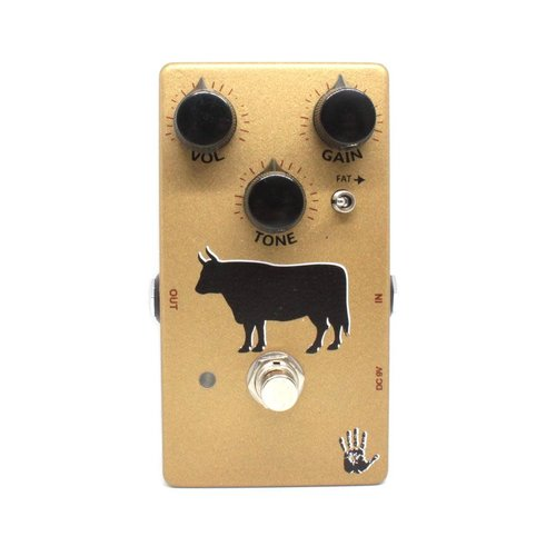 Mojo Hand FX Mojo Hand FX Sacred Cow ''Professional Gold'' Overdrive