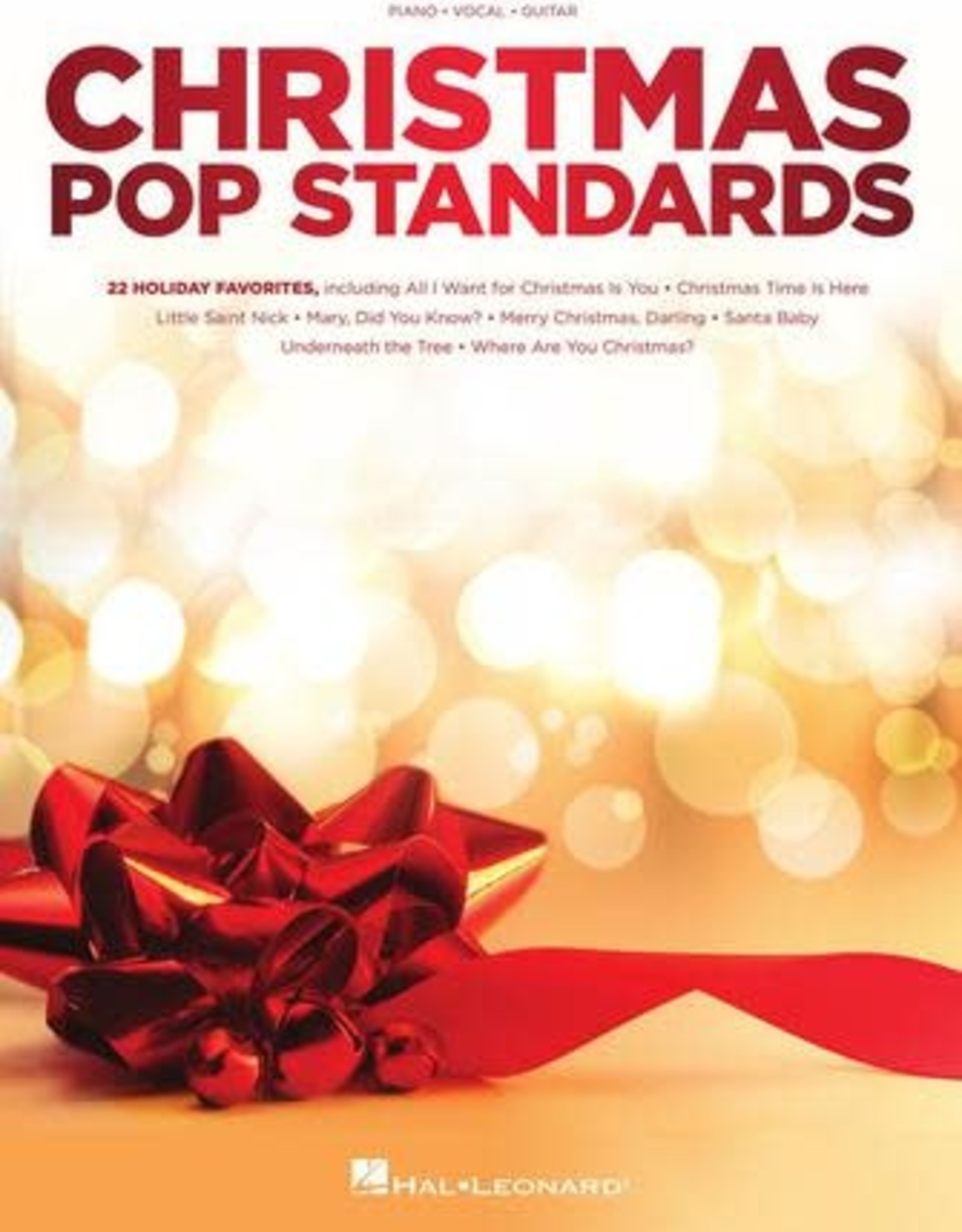 Hal Leonard Christmas Pop Standards: 22 Holiday Favorites