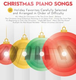 Hal Leonard Sequential Christmas Piano Songs - 26 Holiday Favorites Carefully Selected and Arranged in Order of Difficulty