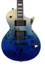 LTD ESP LTD EC-1000 Blue Natural Fade Burl Poplar Top