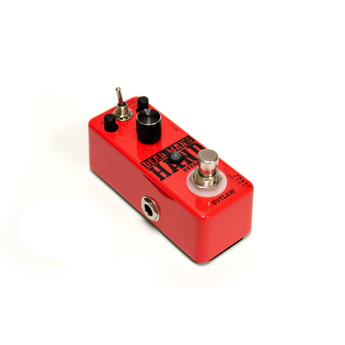 Outlaw Effects Outlaw Effects Dead Man's Hand 2-Mode Overdrive Pedal