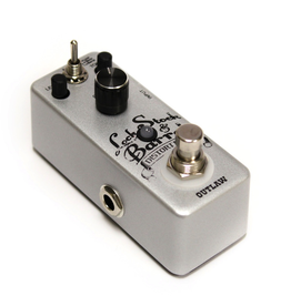 Outlaw Effects Outlaw Effects Lock, Stock & Barrel 3-Mode Distortion Pedal