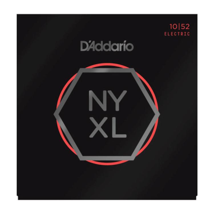 D'Addario D'Addario NYXL1052 Nickel Wound Electric Guitar Strings, Light Top / Heavy Bottom, 10-52