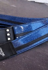 Couch Straps Couch Straps Blue Sparkle w/ Black Racer X