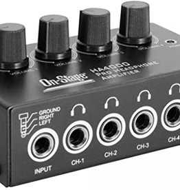 On-Stage On Stage Pro Headphone Amplifier