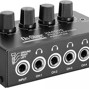 On-Stage On-Stage HA4000 Four-Channel Headphone Amp