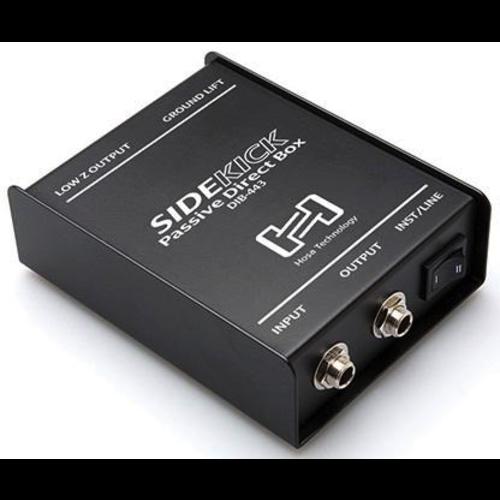 Hosa Hosa Sidekick Passive DI Box, 1/4in TS to XLR3M