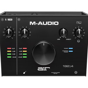 M-Audio M-Audio AIR 192|4 2-In/2-Out USB Audio IO w/ 1 Mic Input