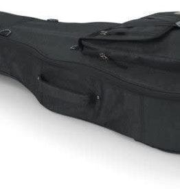 Gator Gator Transit Series Acoustic Guitar Gig Bag with Charcoal Exterior