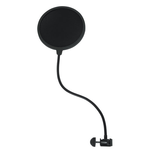 Gator Gator Rok-It Single Layer Microphone Pop Filter with Clamp Mount.