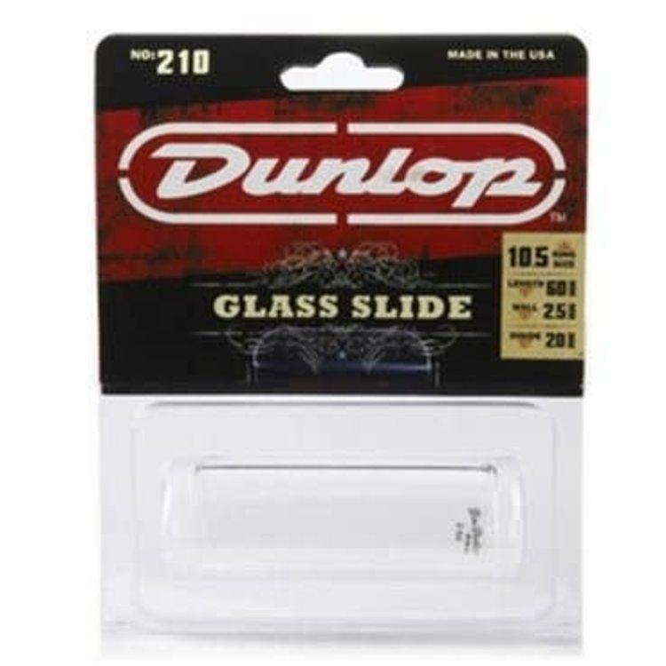 Dunlop Dunlop 210 Pyrex Glass Slide - Medium, Medium Wall Thickness