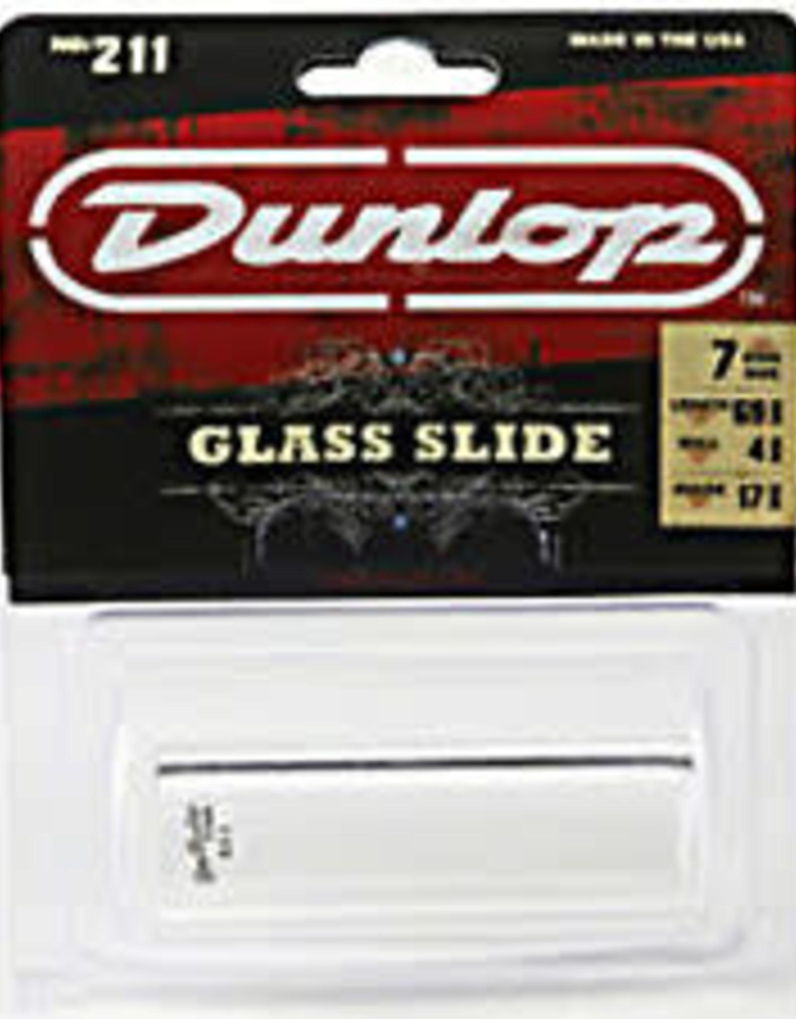Dunlop Dunlop 211 Pyrex Glass Slide - Small - Heavy Wall Thickness