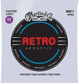Martin Martin Retro Nickel, Custom Light 11-52