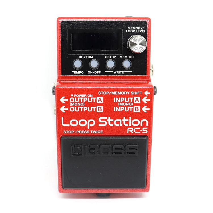 Boss BOSS RC-5 Loop Station Compact Phrase Recorder Pedal