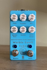 Mattoverse Electronics Mattoverse Warble Swell Echo - Laser Etched Blue