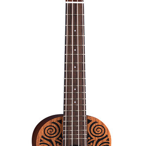 Luna Guitars Luna Uke Tribal Mahogany Concert