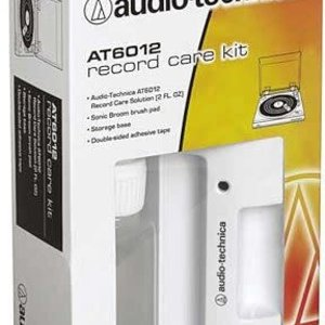 Audio-Technica Audio-Technica AT6012 Record care-kit, includes AT634 record care solution, velvet brush pad, storage base