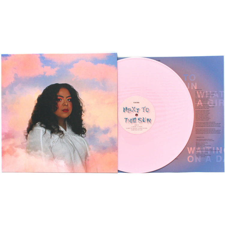 KAINA / Next to The Sun (Pink Vinyl)