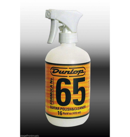 Dunlop Dunlop Formula 65 Guitar Polish & Cleaner — 16oz.