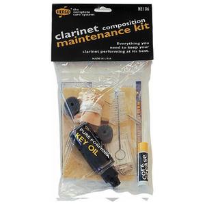 Dunlop Herco Clarinet Composition Maintenance Kit