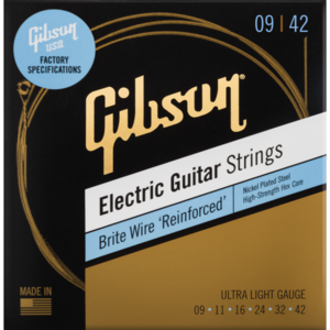 Gibson Gibson Brite Wire 'Reinforced' Electric Guitar Strings