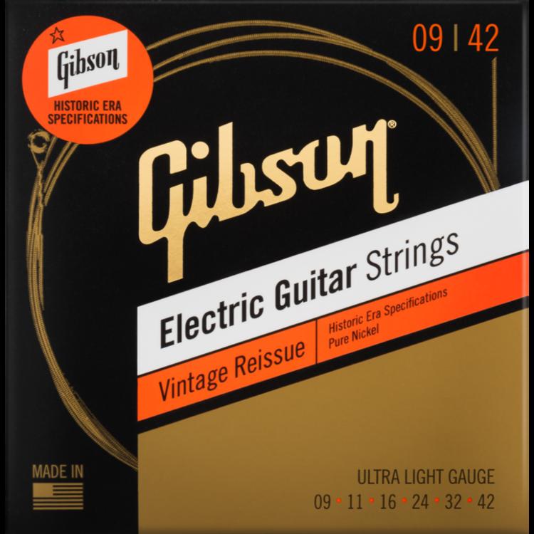 Gibson Vintage Reissue Electric Guitar Strings
