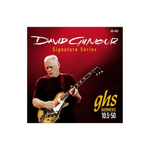 GHS GHS David Gilmour Signature Red Set 10.5-50 Strings