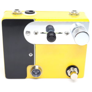 CopperSound Pedals CopperSound Broadway Germanium Preamp & Treble Booster in '52 Butterscotch, Black Guard, Chrome Knobs, Chrome Hardware