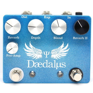 CopperSound Pedals CopperSound Pedals Daedalus Dual Reverb w/Expression