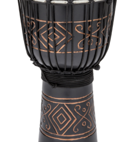 Toca Toca Street Djembe in Black Onyx Medium