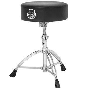 Mapex Mapex Round Top Drum Throne w/ Steel Spindle Height Adjustment