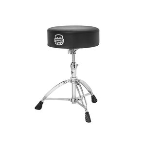 Mapex Mapex 750A Double Braced 3-Leg Black Vinyl Round Throne w/Steel Spindle Height Adjustment