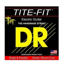 DR DR TITE-FIT™ - Nickel Plated Electric Guitar Strings: 7-String Medium 10-56