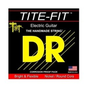 DR DR Tite-Fit Nickel Plated Electric Guitar Strings: 7-String Medium 10-56