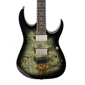 Ibanez Ibanez RG1121PBCKB RG Premium 6str Electric Guitar w/Bag - Charcoal Black Burst