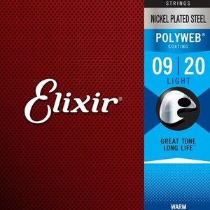 Elixir Elixir Banjo Nickel Plated Steel Strings, Light - .009-.020