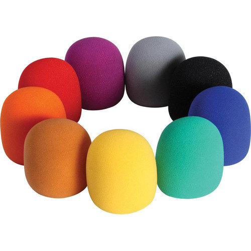 On-Stage Gear On-Stage 9-Color Windscreen Pack