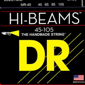 DR DR HI-BEAM™ - Stainless Steel Bass Strings: Medium 45-105