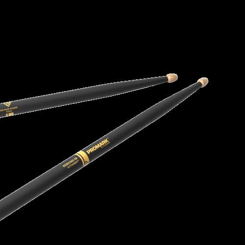 Promark ProMark Rebound 5B ActiveGrip Hickory Drumstick, Acorn Wood Tip