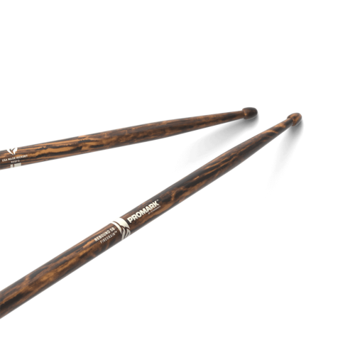 Promark ProMark Rebound 5B FireGrain Hickory Drumstick, Acorn Wood Tip