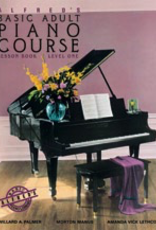 Alfred Music Alfred's Basic Adult Piano Course - Lesson Book: Level 1
