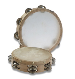 "Trophy Music Co Skin Head 8"" Tambourine"