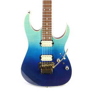 Ibanez Ibanez RG420HPFMBRG RG High Performance 6str Electric Guitar - Blue Reef Gradation