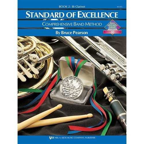 Kjos Standard Of Excellence Book 2, Clarinet